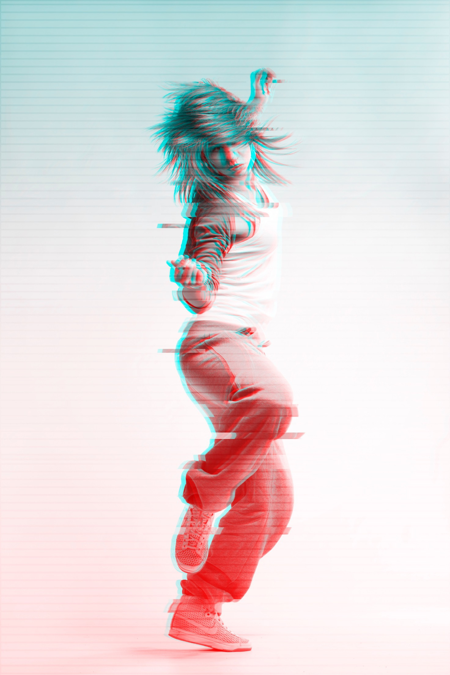 Photo egffet glitch source Behance