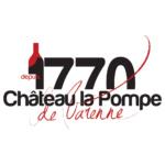 Logo Château la Pompe (pour étiquette de vin)
