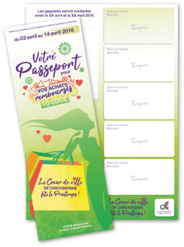 Passeport animation commerciale OCAC Carcassonne